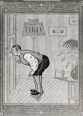 What The Butler Saw. From Illustrierte Poster