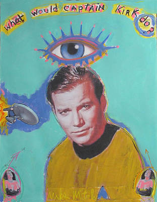 What Would Captain Kirk Do Poster