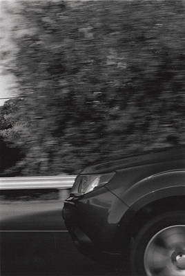 Wheel Blur Photograph Poster
