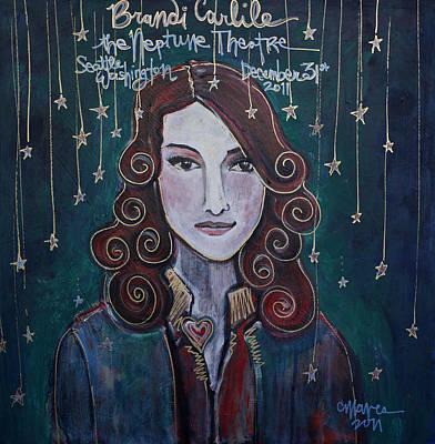 When The Stars Fall For Brandi Carlile Poster