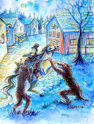 When Werewolves Attack Poster