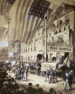 Whig Party Parade, 1840 Poster by Granger