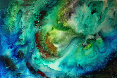Whirlpool By Madart Poster by Megan Duncanson