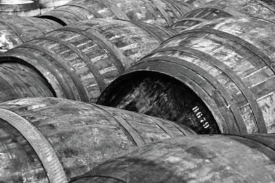 Whisky Barrels Poster