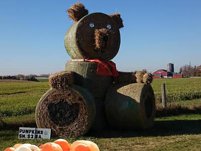 Whistle Bear Harvest Poster