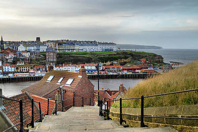 Whitby Poster by Sarah Couzens
