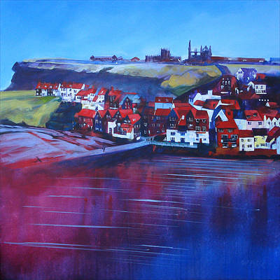 Whitby Smokehouses Poster by Neil McBride