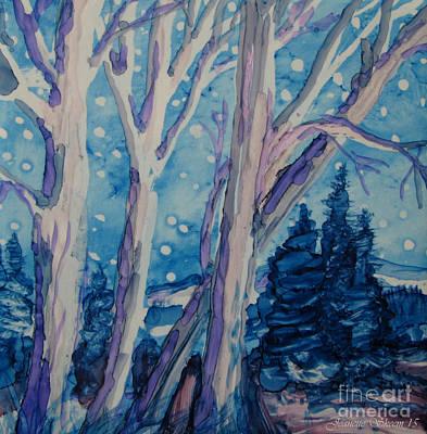 White Christmas  Poster by Jeanette Skeem