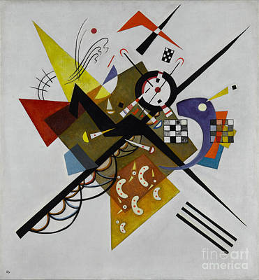 White Poster by Kandinsky