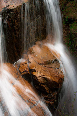 Poster featuring the photograph White Mountains Waterfall by Jason Moynihan
