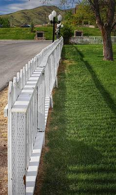 White Picket Fence  Poster by Buck Buchanan