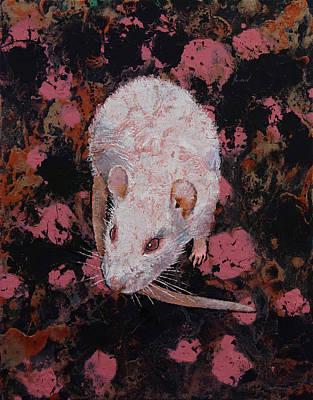 White Rat Poster