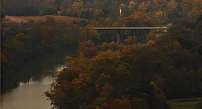White River Foliage Poster
