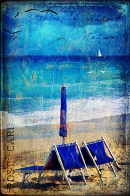 White Sail Poster by Silvia Ganora