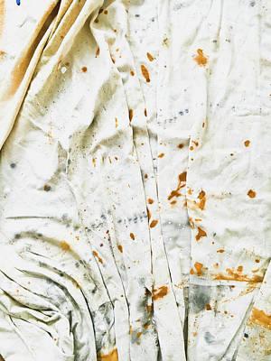 White Sheet Poster by Tom Gowanlock