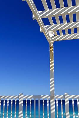 White Stripes Poster by Skip Hunt
