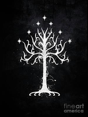 White Tree Of Gondor  Poster by Jonathon Summers