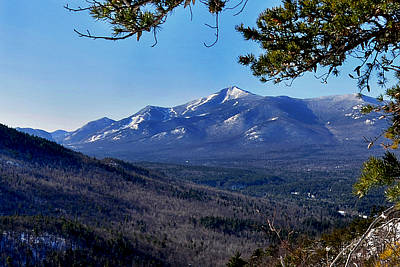 Whiteface Mt From Clark Mt. Poster