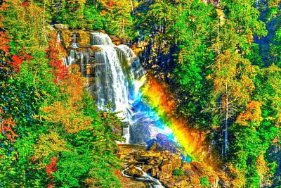Whitewater Rainbow Poster