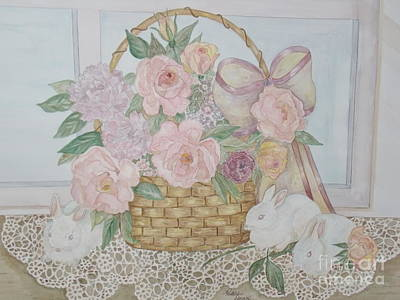 Wicker And Old Lace Poster by Patti Lennox