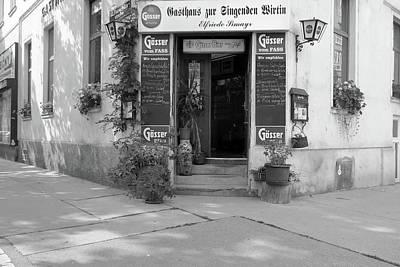 Wiener Wirtshaus Poster