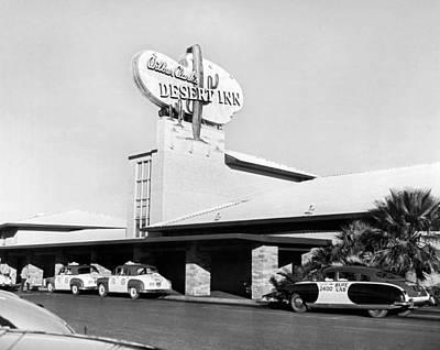 Wilbur Clark's Desert Inn Poster by Underwood Archives