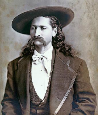Wild Bill Hickok  1873 Poster by Daniel Hagerman