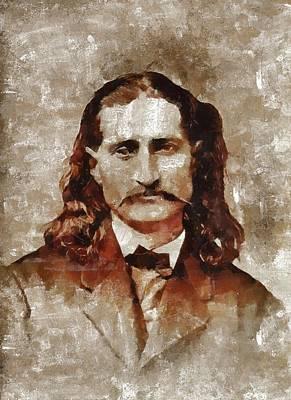 Wild Bill Hickok Poster by Mary Bassett
