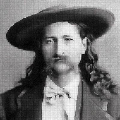 Wild Bill Hickok Mosaic Poster by Daniel Hagerman