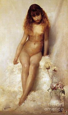 Wild Flower, 1881 Poster