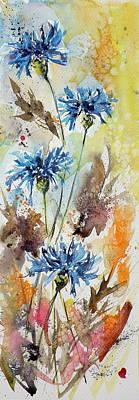 Wild Flowers Poster by Kovacs Anna Brigitta