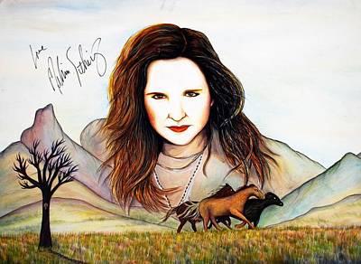 Wild Horses Poster by Joseph Lawrence Vasile