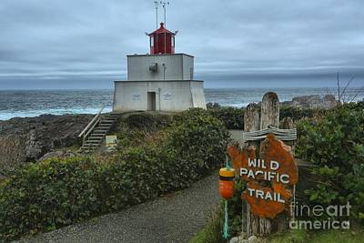 Wild Pacific Lighthouse Poster