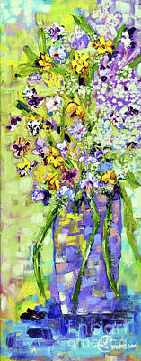 Wild Profusion Poster by Lynda Cookson