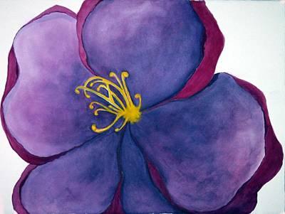 Wild Rose Poster by Anna Villarreal Garbis