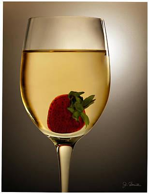 Poster featuring the photograph Wild Strawberry by Joe Bonita