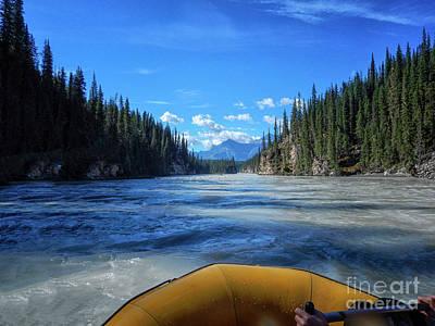 Wild Water Rafting Poster