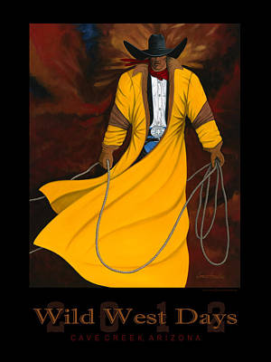 Wild West Days 2012 Poster by Lance Headlee