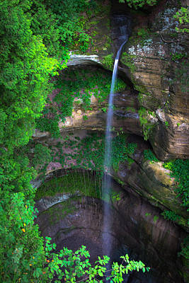 Wildcat Canyon Falls Poster