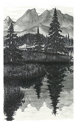 Wilderness Reflections Poster