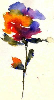 Wildflower Poster by Anne Duke