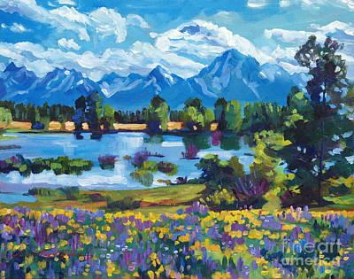 Wildflower Valley Poster