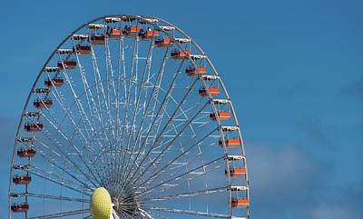 Wildwood Ferris Wheel Poster