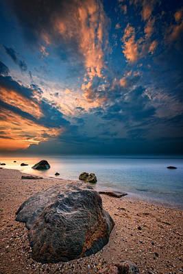 Wildwood Sunset Poster by Rick Berk