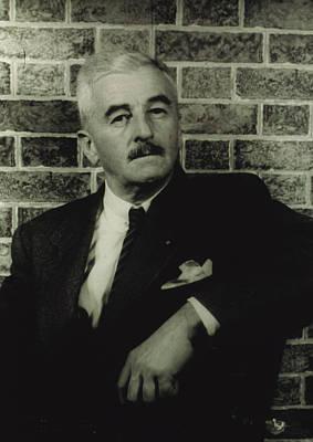 William Faulkner, Portrait By Carl Van Poster