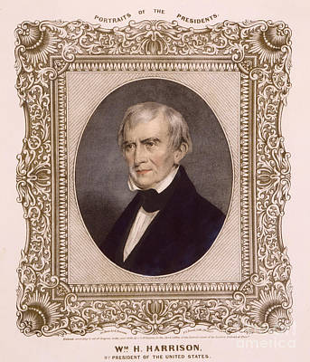 William Harrison, 9th U.s. President Poster by Science Source