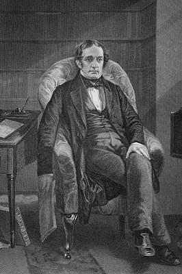 William Hickling Prescott 1796 To 1859 Poster by Vintage Design Pics