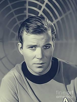 William Shatner, Captain Kirk Poster