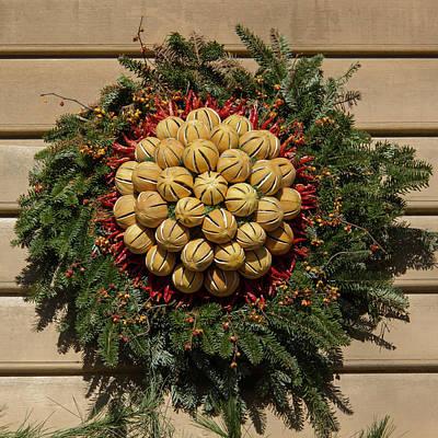 Williamsburg Wreath 46 Poster by Teresa Mucha