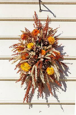 Williamsburg Wreath 84 Poster by Teresa Mucha